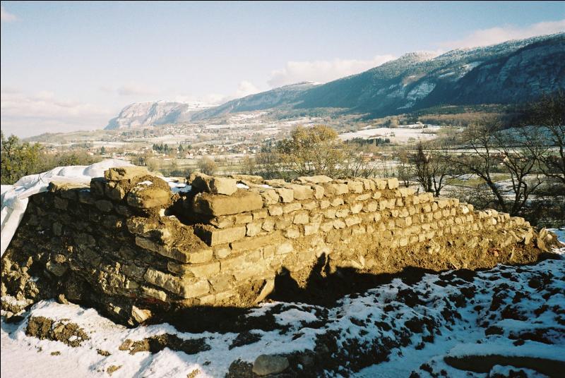 Quel nom donne-t-on au temple gallo-romain découvert à Présilly ?
