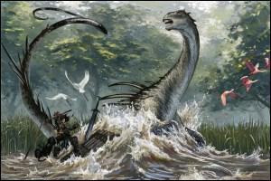 Quel cryptide signifie « Celui qui peut arrêter le flot de la rivière » ?