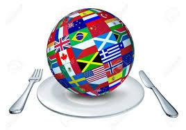 Les pays en nourriture