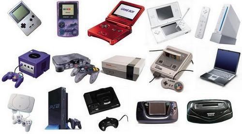 Les jeux et les consoles