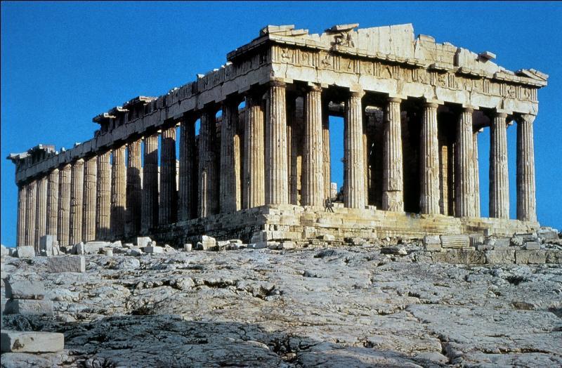 Quel est ce célèbre bâtiment de la Grèce antique ?
