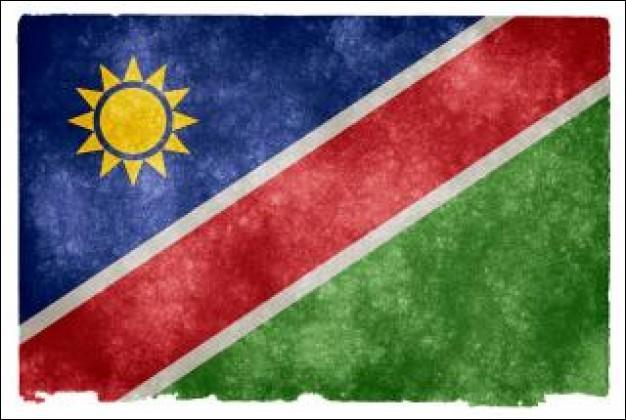 Quel animal représente la Namibie ?