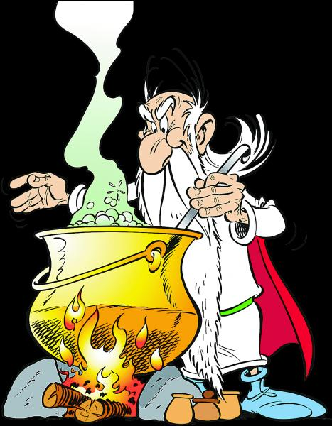 Ce personnage d'Astérix s'appelle Abraracourcix.