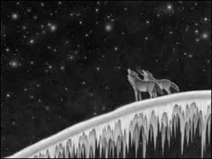 Où les loups essaient-ils d'aller dans le dernier tome ?