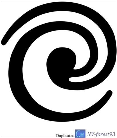 Que signifie la spirale sur la patte tordue de Faolan ?