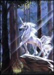 Quel est ce cheval imaginaire avec une corne ?