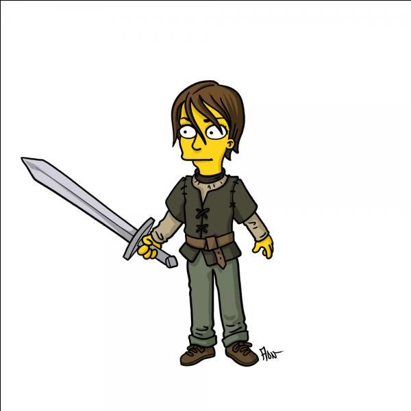 Maligne, elle apprend vite, même à se servir d'une épée !