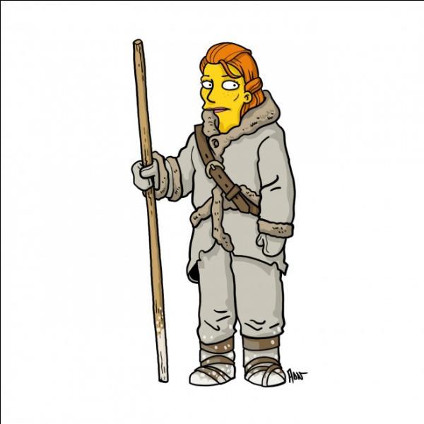 La sauvageonne forme un duo avec Jon Snow dans la série !