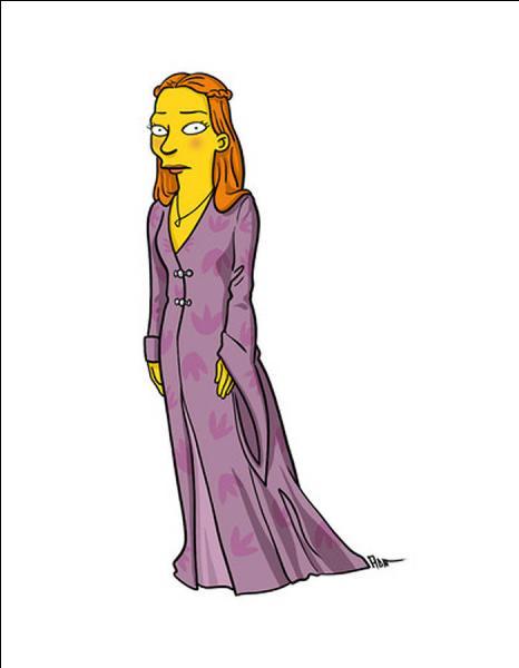 Elle est l'un des personnages principaux de la série, Joffrey lui en fait voir de toutes les couleurs !