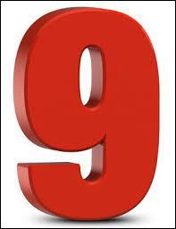 """À quel département français correspond le numéro """"9"""" ?"""