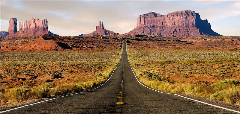 Parmi ces États américains, lequel n'est pas traversé par la fameuse route 66 ?