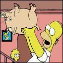 Comment Homer a-t-il appelé ce cochon ?