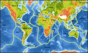 Les séismes sont le fruit du mouvement des...