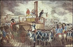 Quel est le nom du roi guillotiné ?