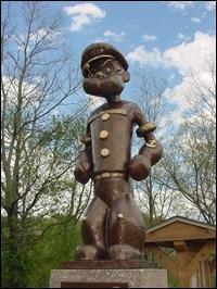 En 1937, une statue à l'effigie de Popeye est érigée au Texas, en raison de la bonne influence de Popeye sur les habitudes alimentaires des Américains. En effet, Popeye a sauvé l'industrie alimentaire des épinards en augmentant leur consommation de...