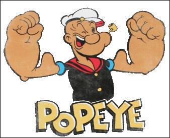 """Le nom de Popeye fait directement référence à son invalidité. Que veut alors dire littéralement """"Pop eye"""", en français ?"""