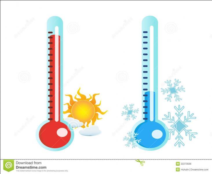 Quelle y est la température ?