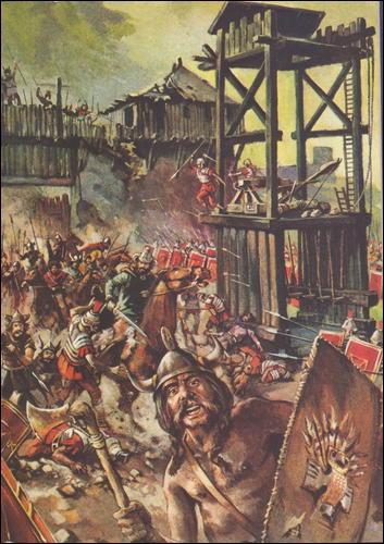À cette bataille, les Romains ont franchement dérouillé les Gaulois. Quelle est-elle ?