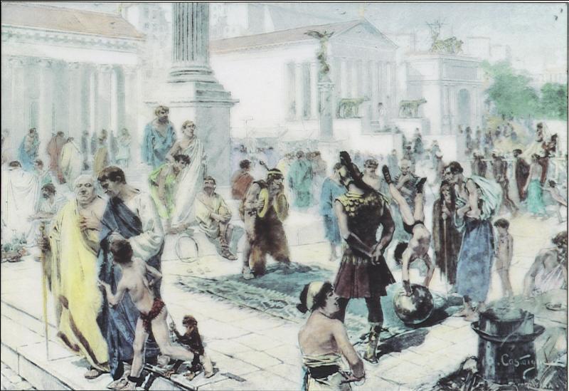 Il est le cœur de Rome où les citoyens se retrouvaient pour s'exprimer, discuter et acheter. Quel est cet endroit ?