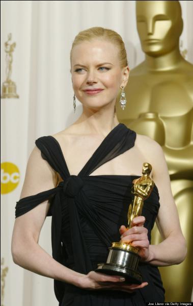 """Nicole Kidman, pour """"The Hours"""" en :"""
