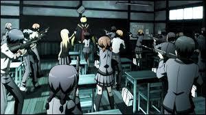 Commençons par une question facile (enfin, si tu connais le manga...). Qui est la cible des élèves ?