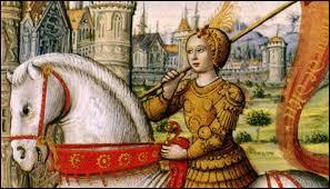 """On surnomme Jeanne d'Arc """"la Pucelle d'Orléans"""" car elle est née dans cette ville."""