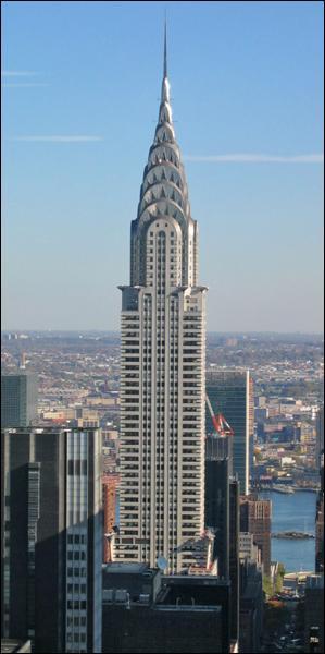 Cette tour est aussi à New York. Bien sûr, c'est...
