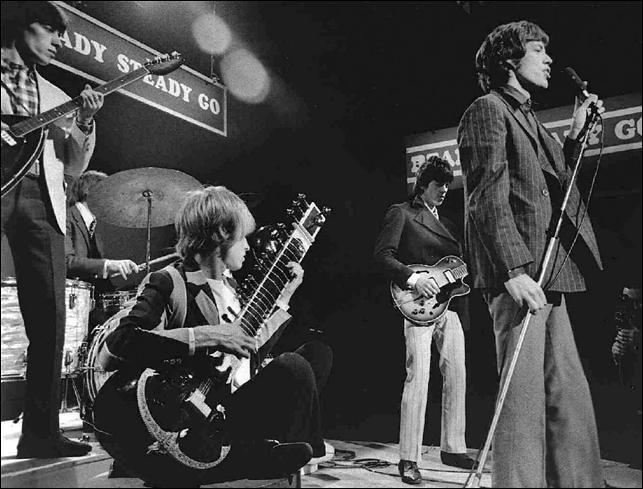Ce groupe de rock est célèbre. Que chantent-ils en 1966?