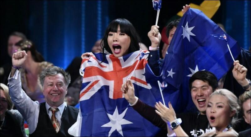 Comment s'appelle la chanteuse qui a, malheureusement, failli gagné l'Eurovision 2016 ?