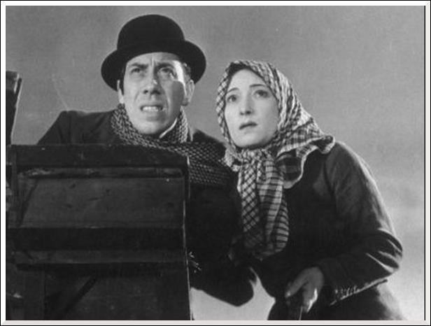 Dans ce film de Marcel Pagnol qui sont ces deux étranges personnages ?
