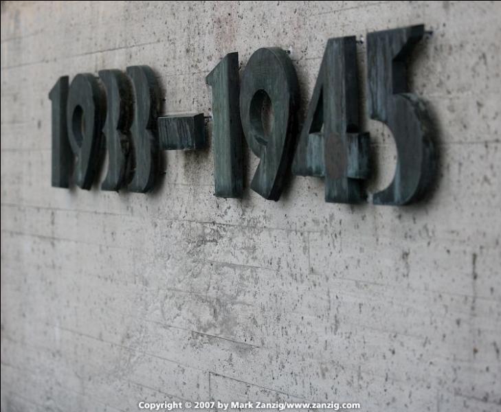 Quant à 1933-1945...