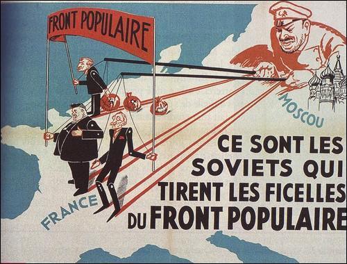 Quand ont eu lieu la victoire électorale et le lois sociales du Front Populaire ?