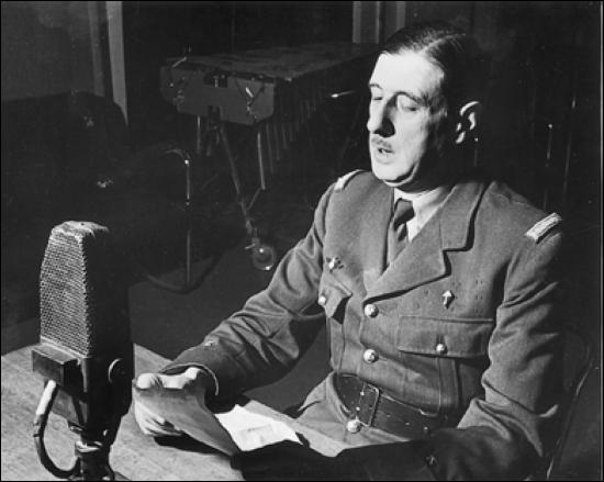 L'appel du général de Gaulle a eu lieu le...