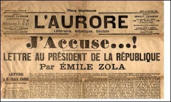 Quand a eu lieu l'affaire Dreyfus ?