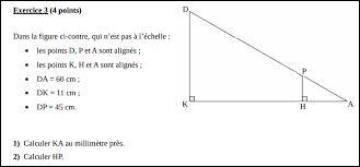 Mathématiques ~ Que calcule-t-on en divisant le côté adjacent par l'hypoténuse, dans un triangle ?