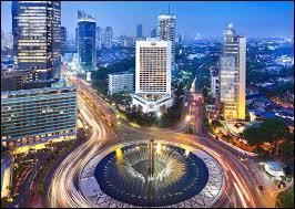 Géographie ~ Où me situez-vous Jakarta ?