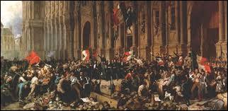 Histoire ~ Datez le début de la IIe République française.