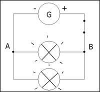 L'image ci-dessus représente-t-elle un circuit à dérivation ?