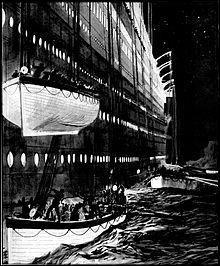 Quel est le bateau qui sauve les passagers du naufrage ?