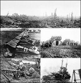 La Première Guerre mondiale s'est achevée en 1914.