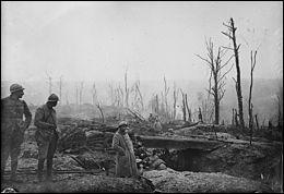 La bataille de Verdun opposait les armées française et allemande.