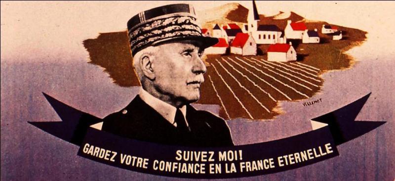 Le régime de Vichy était le régime politique dirigé par le maréchal Philippe Pétain.