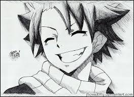 Avec qui Natsu se dispute-t-il souvent ?