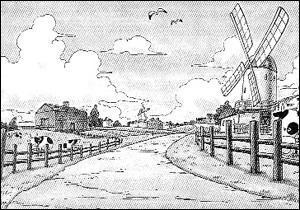 De quel village est originaire Luffy ?