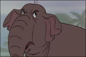 Femme de l'éléphant militaire de la question 3 ?