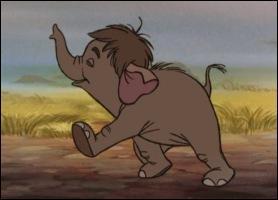 Elephanteau que l'on retrouve aussi dans ' le livre de la jungle ' de Disney.