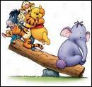 Quel est cet animal qui se trouve en compagnie de Winnie et ses amis ?