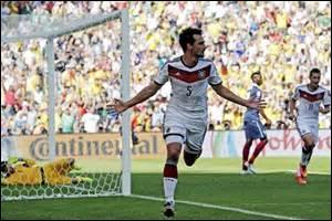 """COUPE DU MONDE 2014 - Après le """"fiasco"""" de 2010, les Bleus se hissent en quart de finale et sont opposés aux allemands ; la France perd, sur quel score ?"""