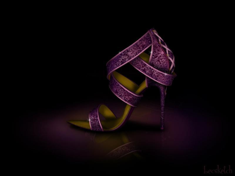 Cette chaussure est inspirée de quel gentil personnage ? (indice : Elle a été enfermé)