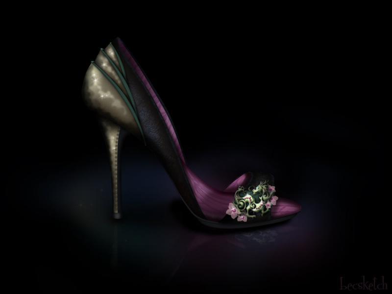 Cette chaussure est inspirée de quel gentil personnage ? (indice : Elle se fait passer pour un homme)